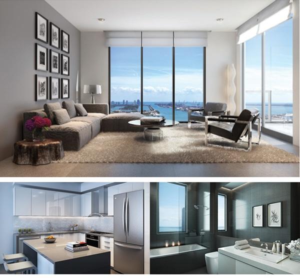 Canvas Miami Living Room