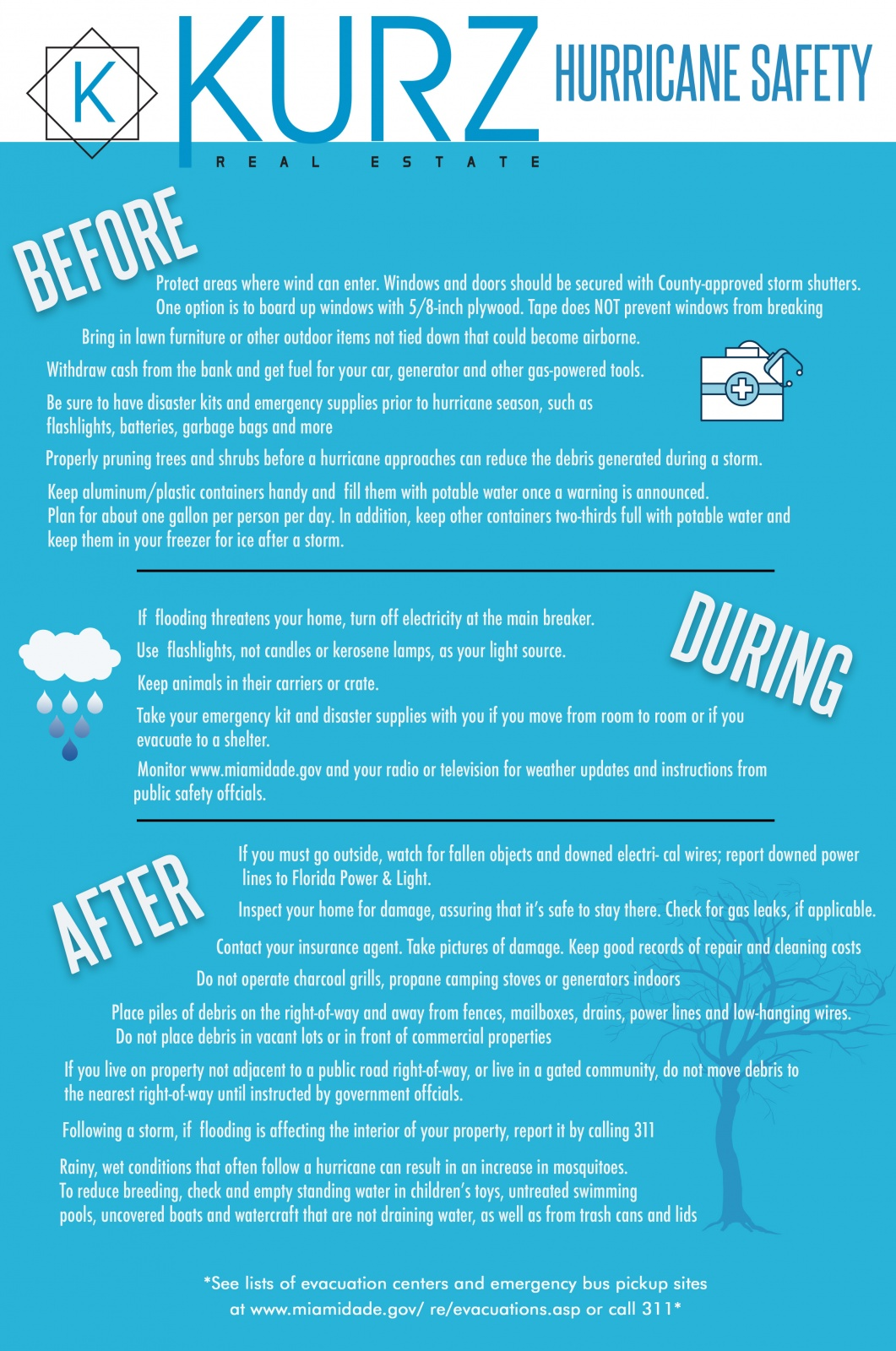 Kurz RE Hurricane Safety Tips
