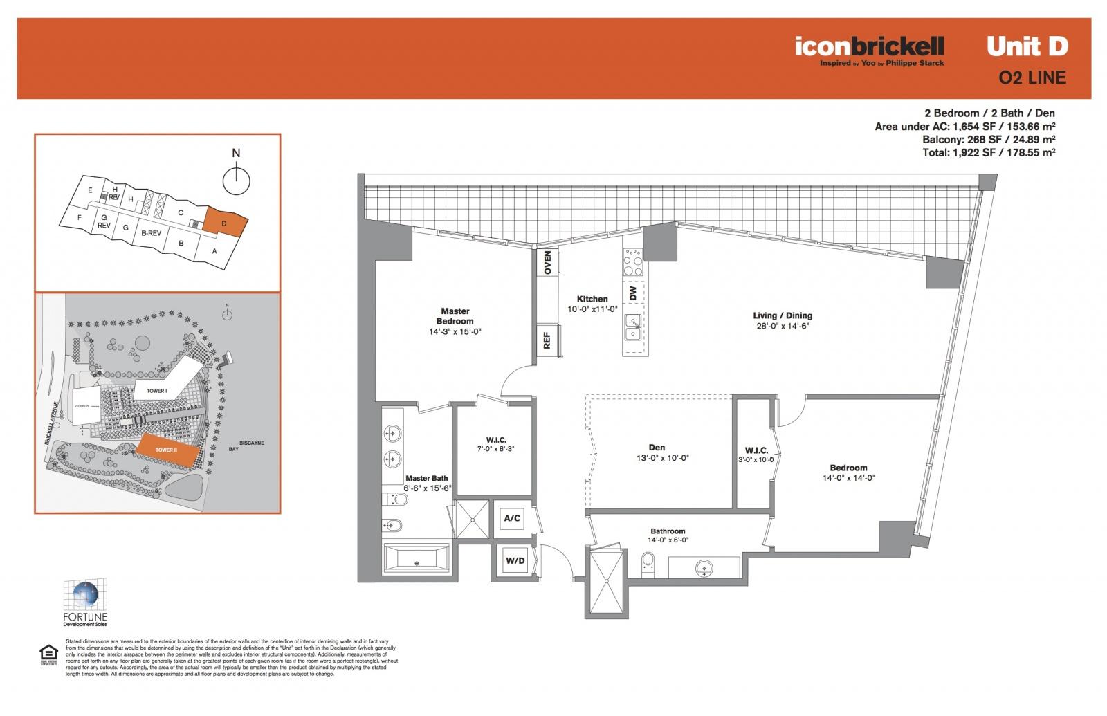 Icon Brickell Two, line 02 floor plan