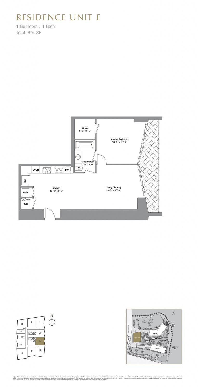 Icon Brickell Viceroy floor plans