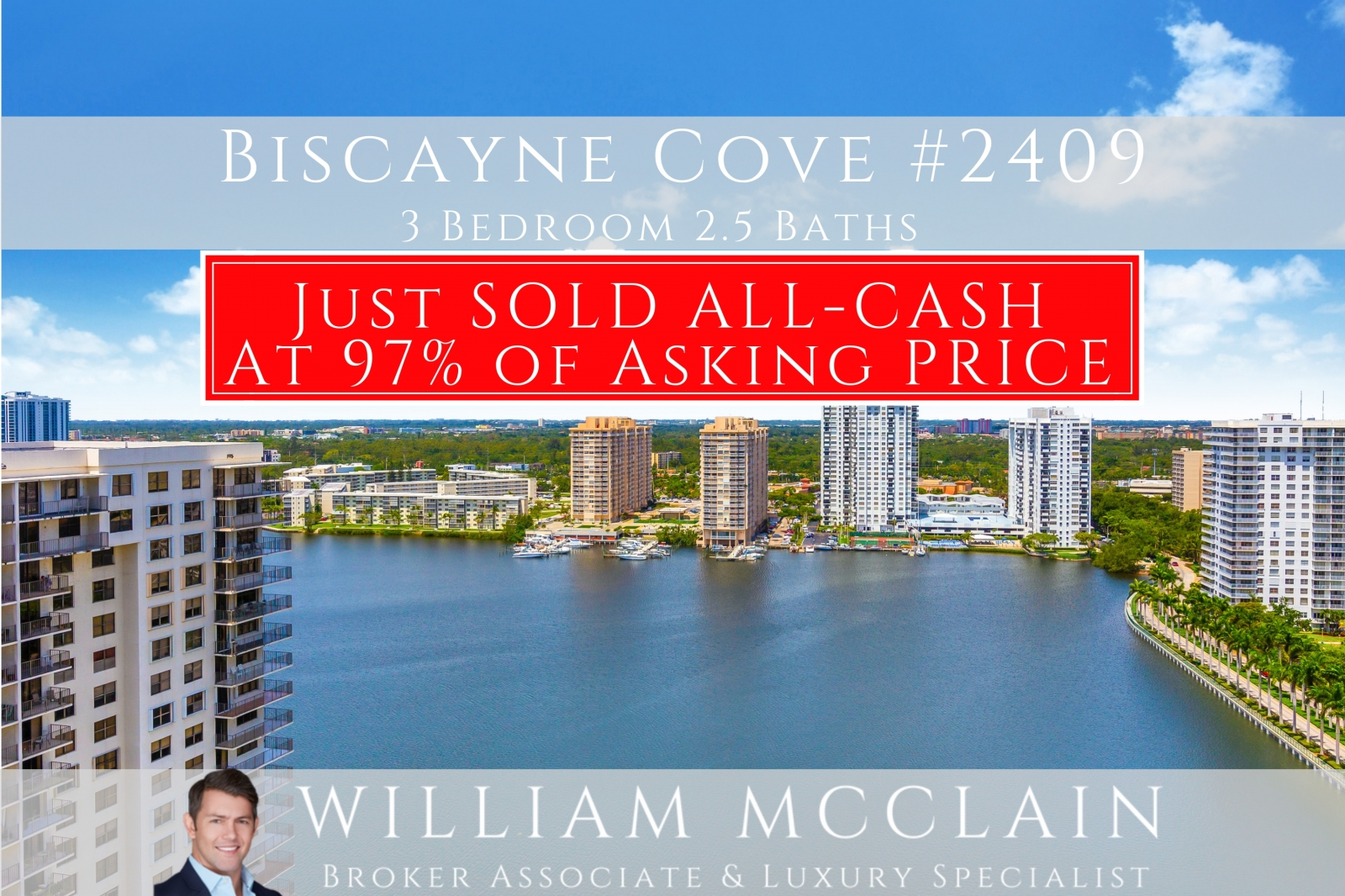 Just Sold Biscayne COve