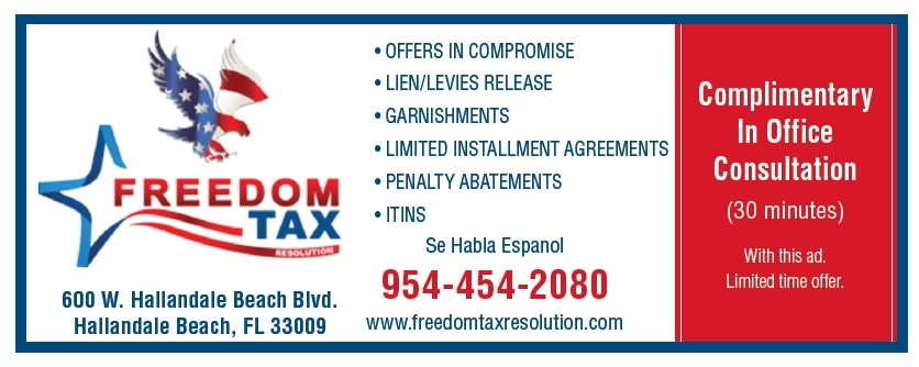 Freedom Tax Coupon