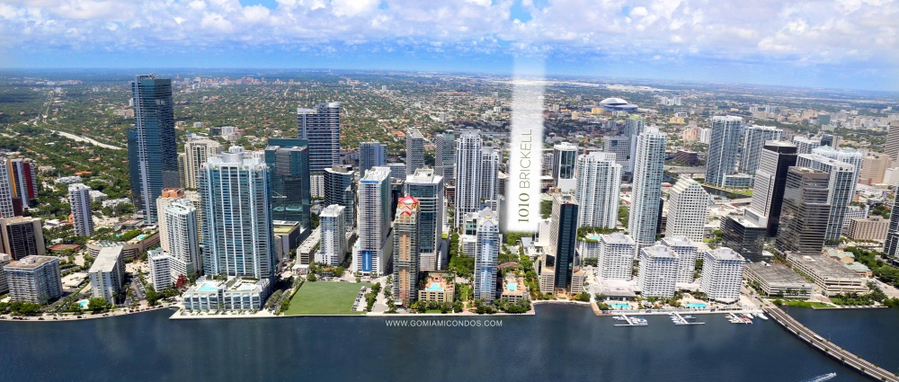 1010 Brickell condo Miami Location