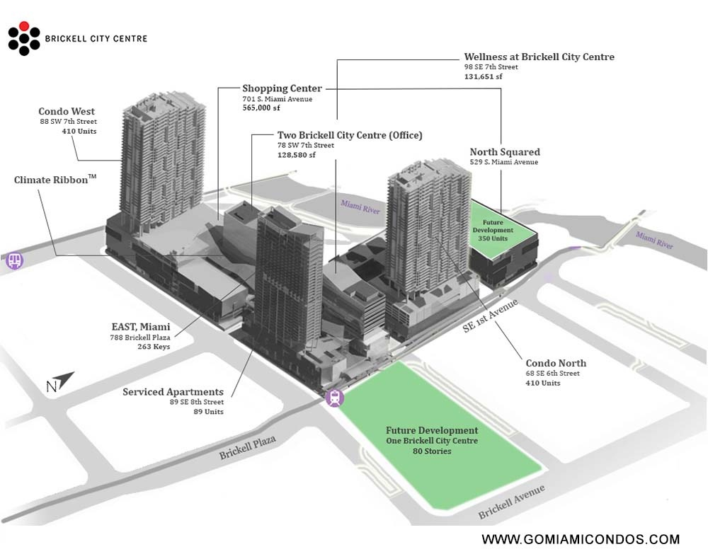 Brickell citycentre drawing