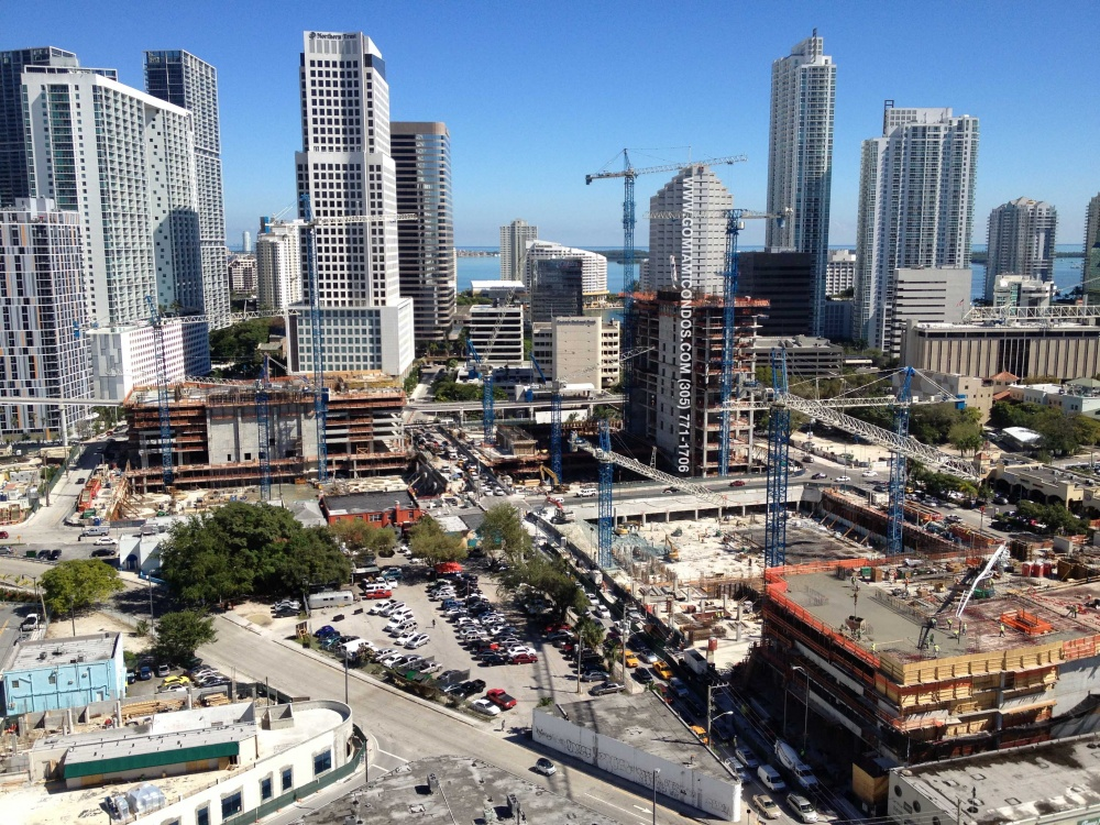 Latest Update on Construction at Brickell CityCentre