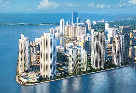 BRICKELL KEY CONDOS FOR SALE