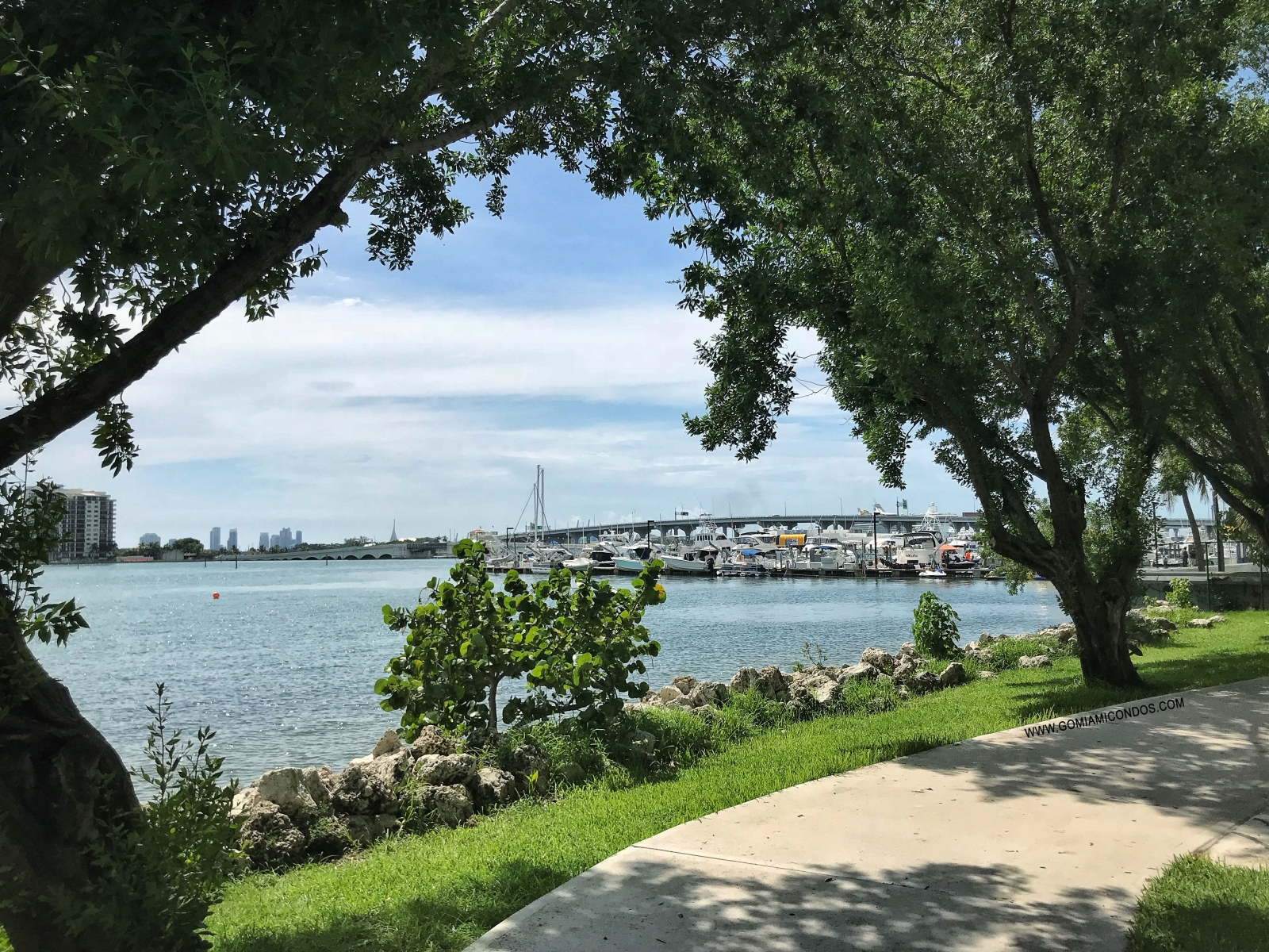 Edgewater Miami margaret pace park Bay view