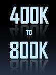 400 to 800