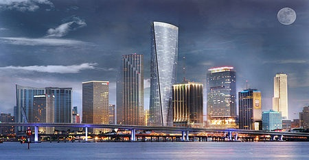 One Bayfront plaza condo downtown Miami - www.Gomiamicondos.com