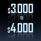 3000 to 4000