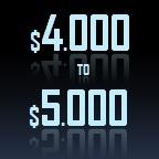 4000 to 5000