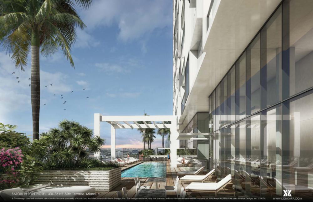 Satori Edgewater Miami condo hotel