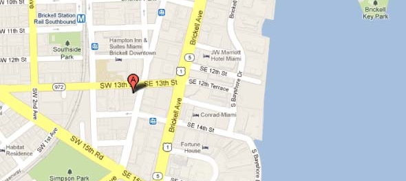 ubicacion SLS Brickell