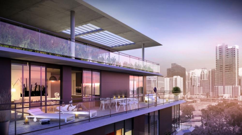 Cassa Brickell Balcony City View