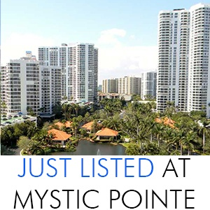 Just Listed At Mystic Pointe Aventura
