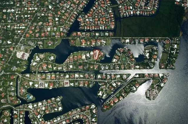 Gables Estates waterfront homes for sale