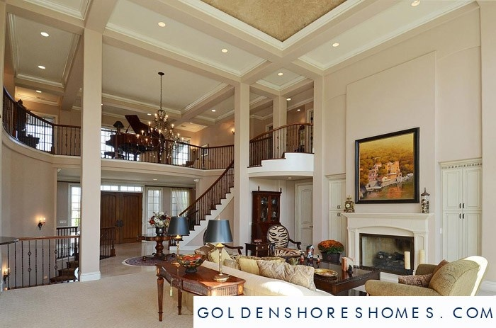 Golden Shores Living Room Sunny Isles Beach Homes For Sale