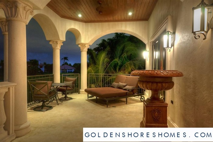 Golden Shores Sunny Isles Patio