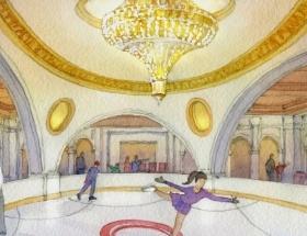 The Estates at Acqualina Ice Skating Ring