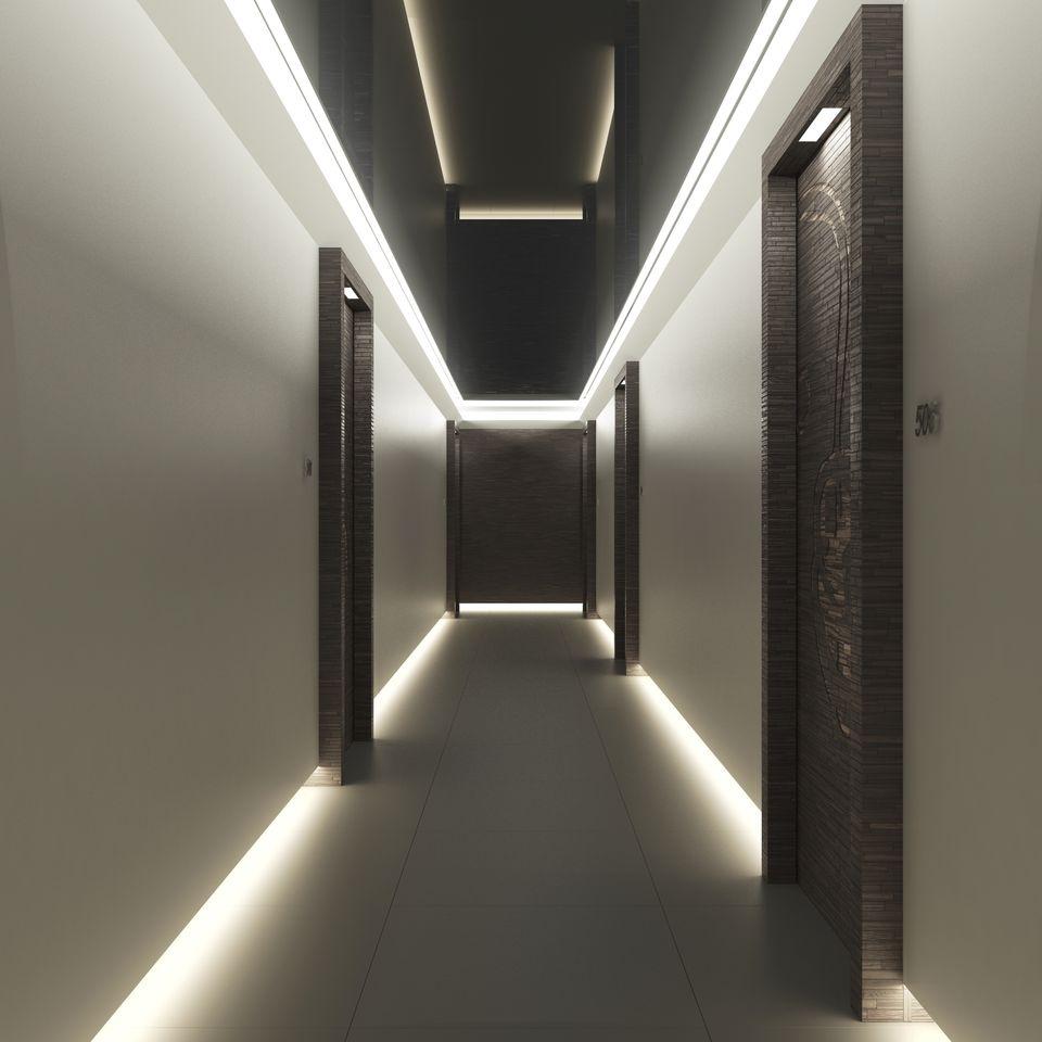 The Bond at Brickell Interior hall ways