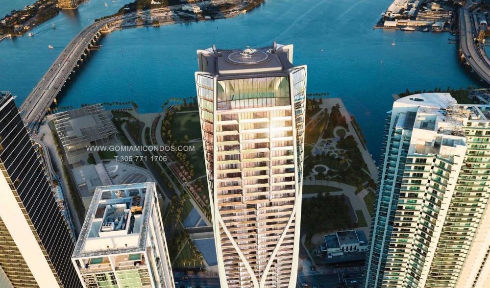 1000 Museum Condo Downtown Miami by Zaha Hadid