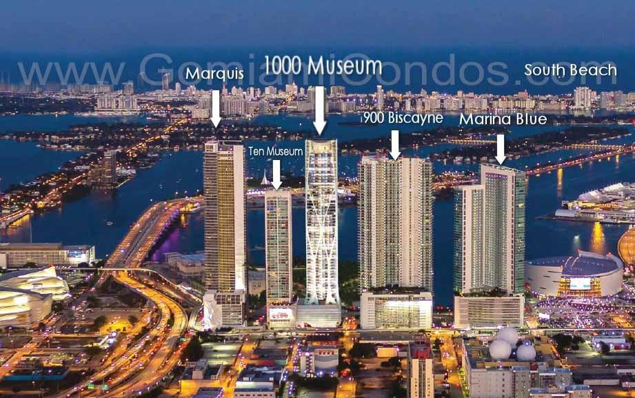1000 Museum Condo location