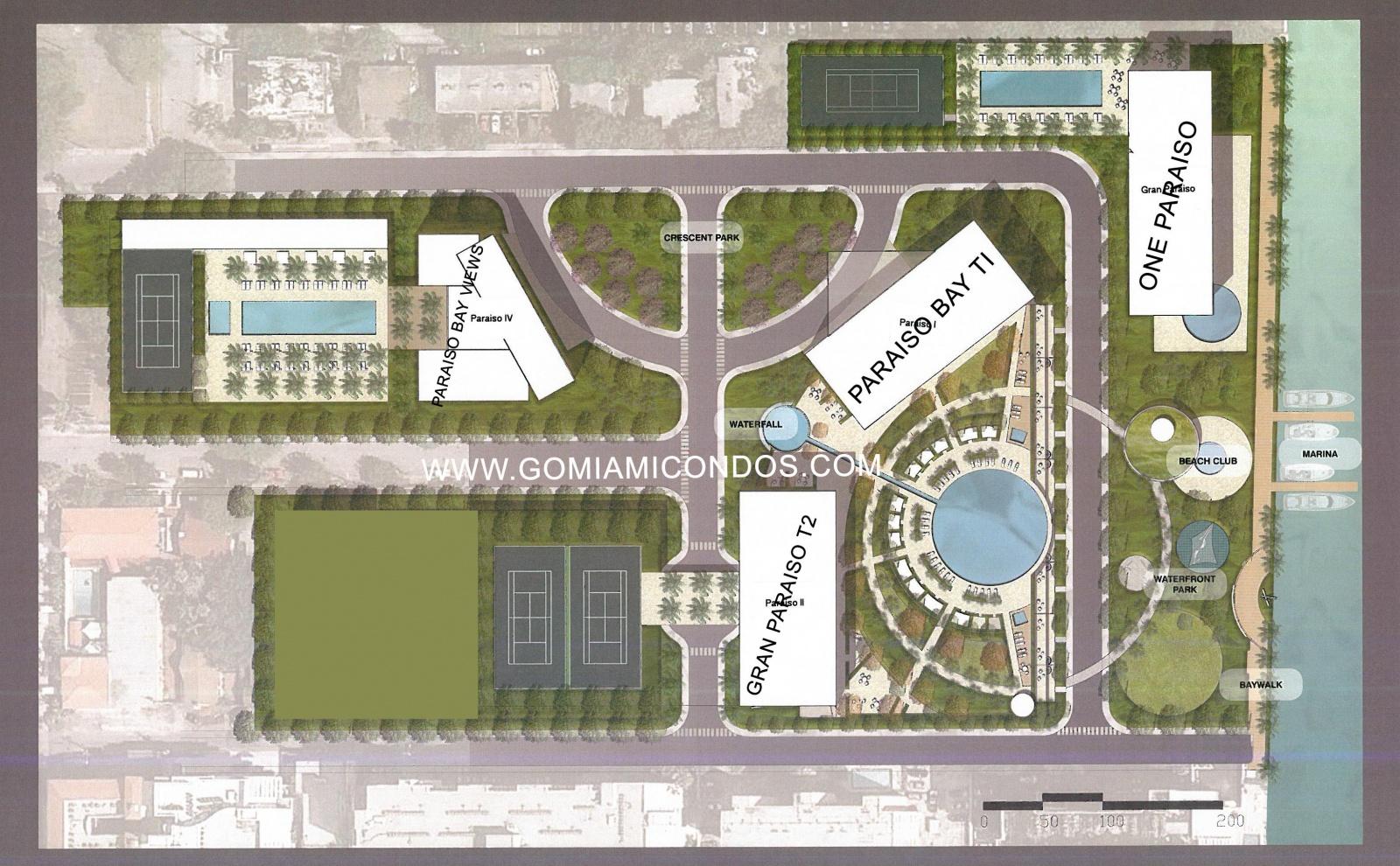 Gran paraiso edgewater master plan