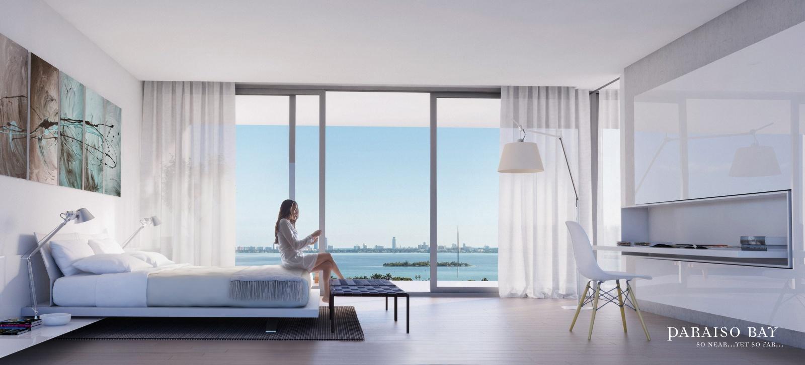 Gran Paraiso edgewater condo master bed room