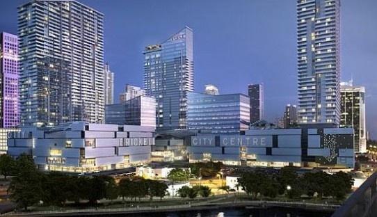 Brickell citycentre Preconstruction project sales