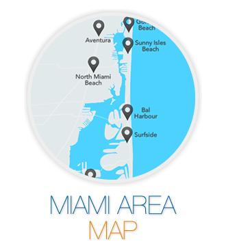 Miami Area Map